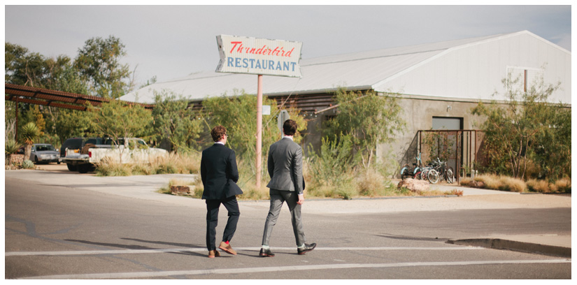 Destination wedding photography at Capri Ballroom and Thunderbird Hotel in Marfa Texas by Dallas wedding and portrait photographer Stacy Reeves