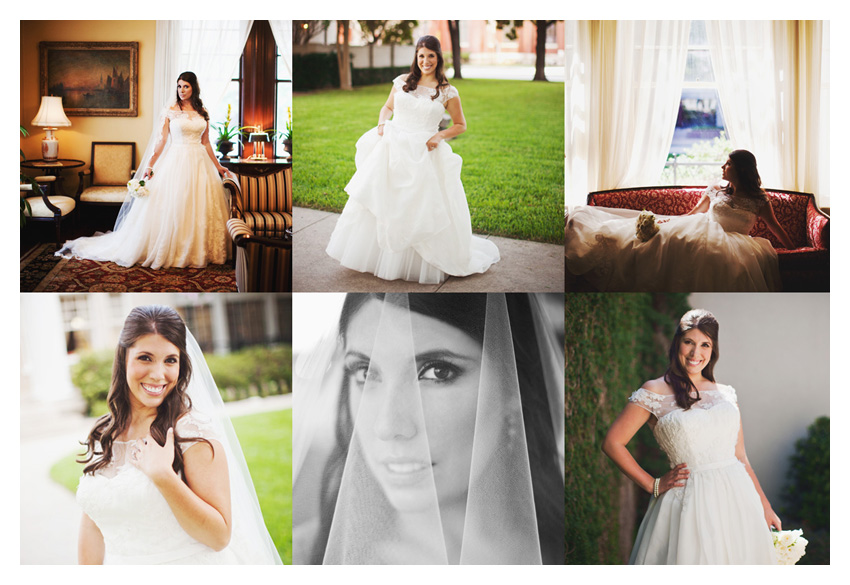 bridal session of Andrea Gage Cheek at Belo Mansion by Dallas wedding photographer Stacy Reeves
