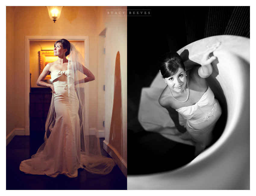 bridal portraits of Ashley Edrington at the Rosewood Mansion on Turtle Creek by Dallas wedding photographer Stacy Reeves