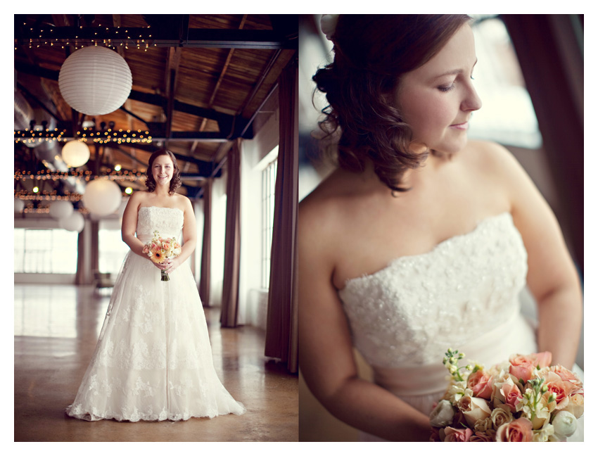 bridal session of Angela Brock at Hickory Street Annex in downtown by Dallas wedding photographer Stacy Reeves