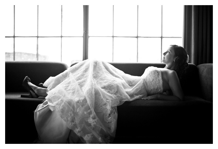 bridal session of Angela Brock at Hickory Street Annex in downtown by Southlake wedding photographer Stacy Reeves