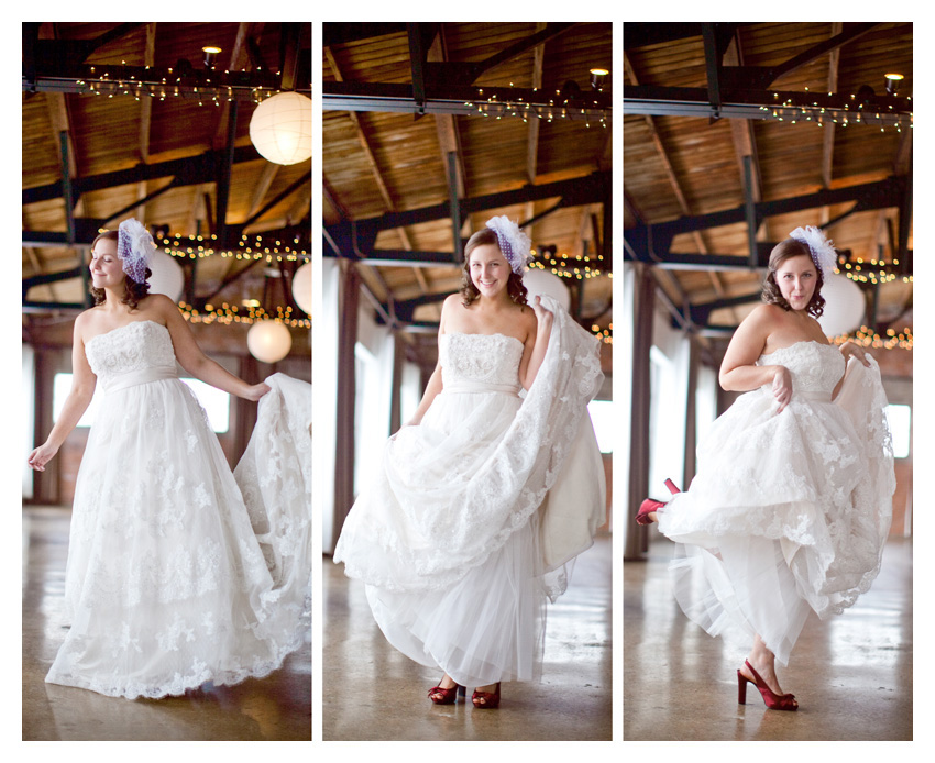 bridal session of Angela Brock at Hickory Street Annex in downtown by top wedding photographer Stacy Reeves