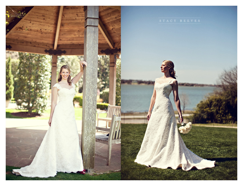 Destination Wedding Dresses Dallas : Dress at the dallas arboretum and botanical garden by wedding
