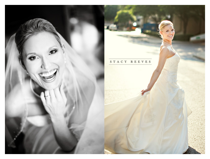 Caroline Boyd Cumbie bridal portraits in Highland Park at the Park Cities Hilton by Dallas wedding photographer Stacy Reeves