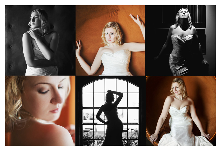 Bridal portrait session at NYLO Hotel in Plano by Dallas wedding photographer Stacy Reeves