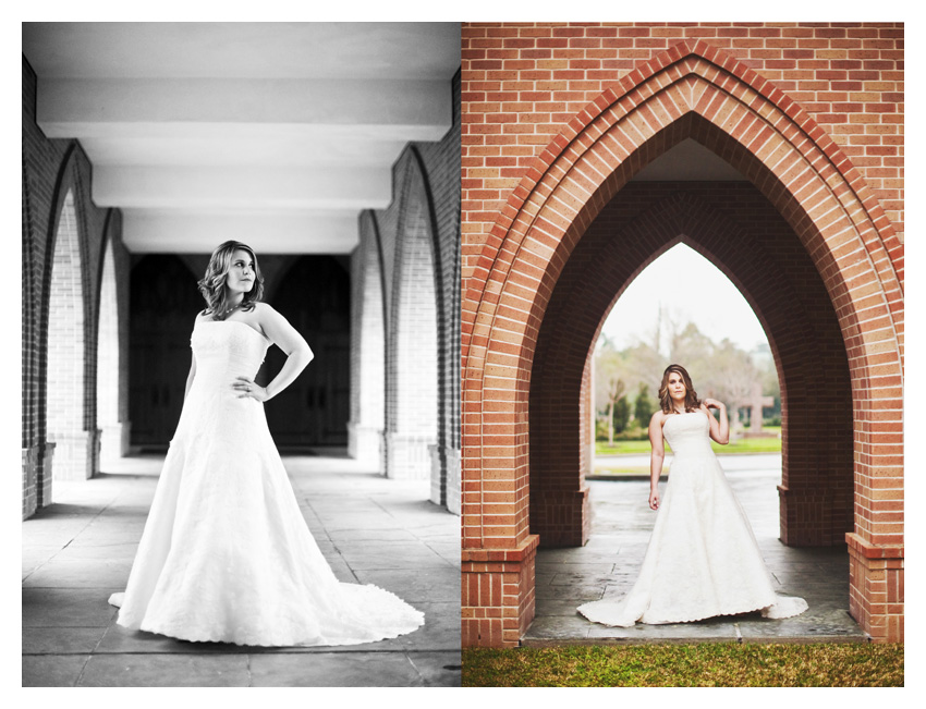 classic elegant timeless traditional bridal portraits of Jennifer Movassaghi Moffett by Oklahoma wedding photographer Stacy Reeves