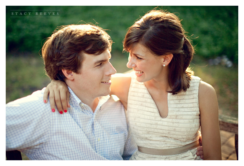 engagement session of Ashley Edrington and Matt Ashbaugh in Highland Park by Fort Worth wedding photographer Stacy Reeves