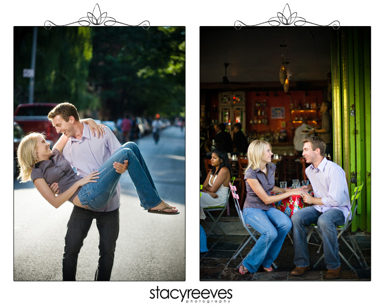 Destination engagement session of Andy Fredericks and Natalie Furr in Central Park, Lower East Side, and Times Square by Dallas wedding photographer Stacy Reeves