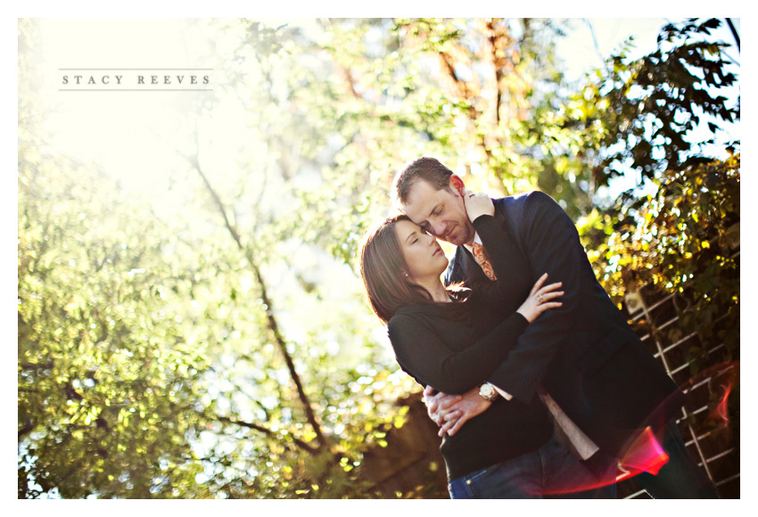 engagement session of Deziree Lindsay and Jon Beller at Again and Again vintage antique furniture resale shop in Dallas by Dallas wedding photographer Stacy Reeves