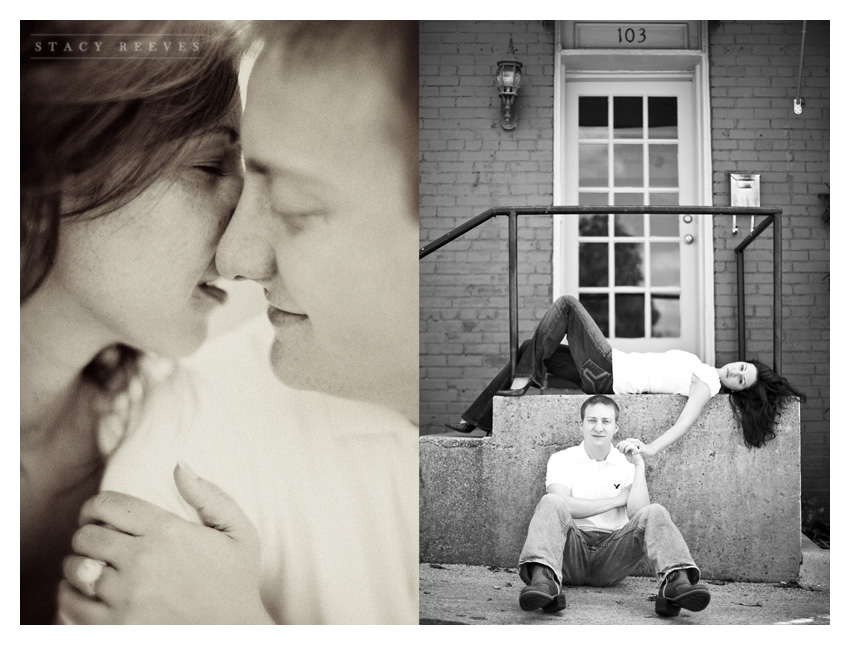 Grapevine near Main Street by Dallas wedding photographer Stacy Reeves