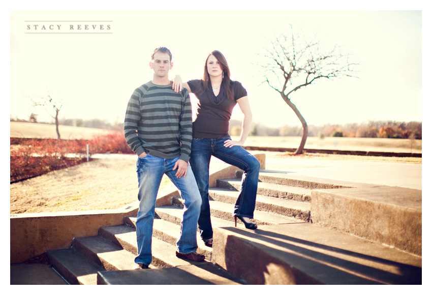 engagement session photos of Jamie Foster and Chase in Frisco Texas by Dallas wedding photographer Stacy Reeves