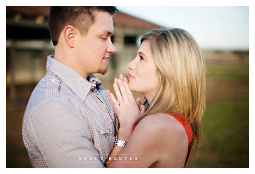 engagement portrait session of Stephanie Bostwick and Tim Hess in Plano Texas by Dallas wedding photographer Stacy Reeves