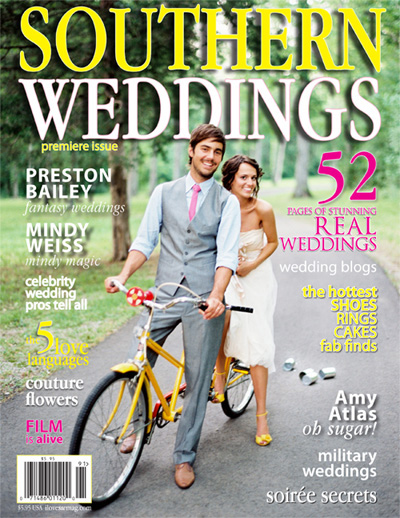 Southern Weddings magazine featured photographers Dallas wedding photographer Stacy Reeves