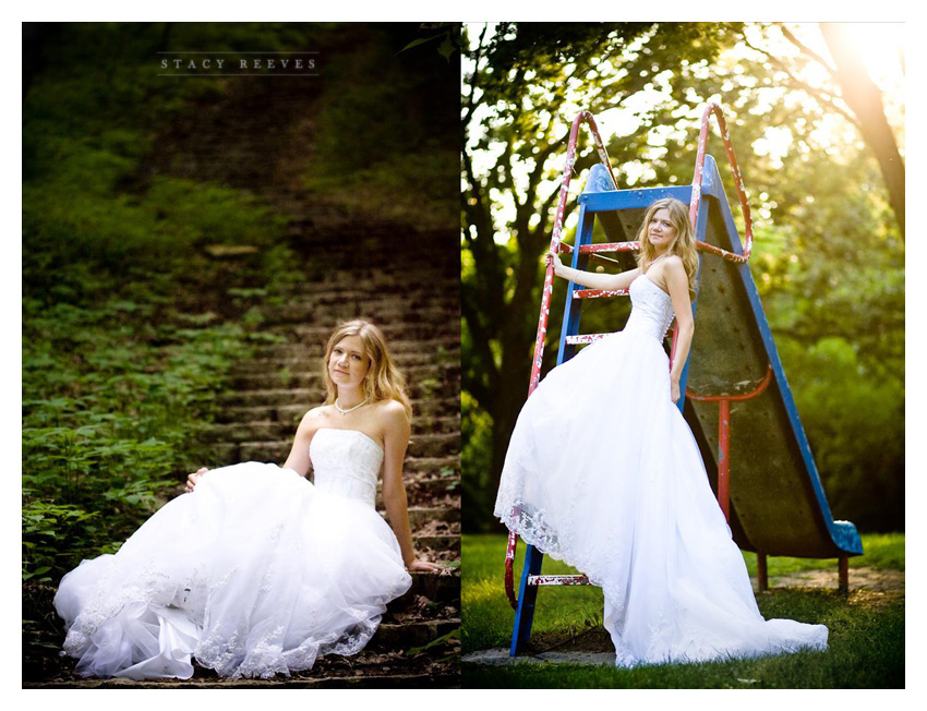 trash the dress fearless bridal rock the frock session by Dallas wedding photographer Stacy Reeves