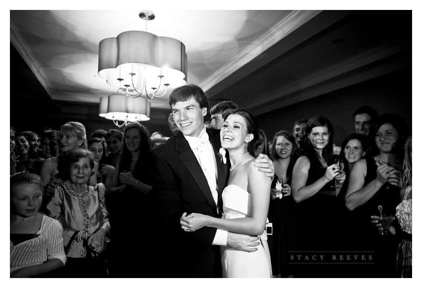 wedding photos of Ashley Edrington and Matt Ashbaugh at Lakewood Country Club by Dallas Wedding Photographer Stacy Reeves