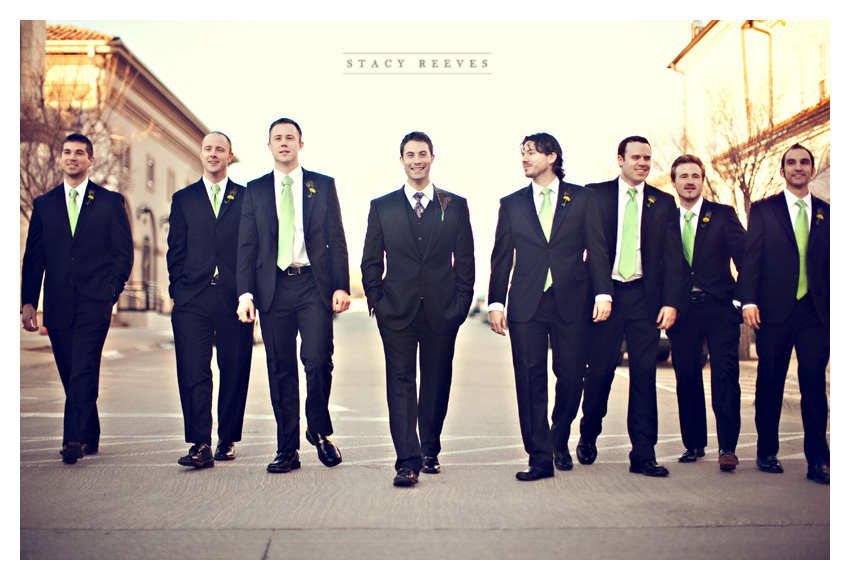naturally all the men are clothed in swanky DJones suits Sharp Wedding