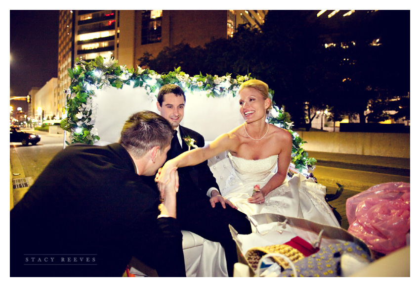 wedding of Caroline Boyd and Todd Cumbie at Tower Club by Dallas wedding photographer Stacy Reeves