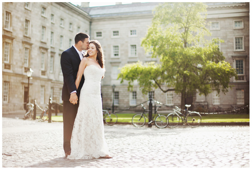 destination wedding of Erin Mazur and Tyler Hufstetler in Dublin Ireland by destination wedding photographer Stacy Reeves