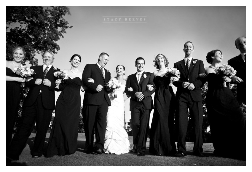 wedding photos of Heather Patterson and Anthony Simon at the Shadow Hawk Golf Club at the Houstonian Golf and Country Club in Richmond by North Texas Wedding Photographer Stacy Reeves