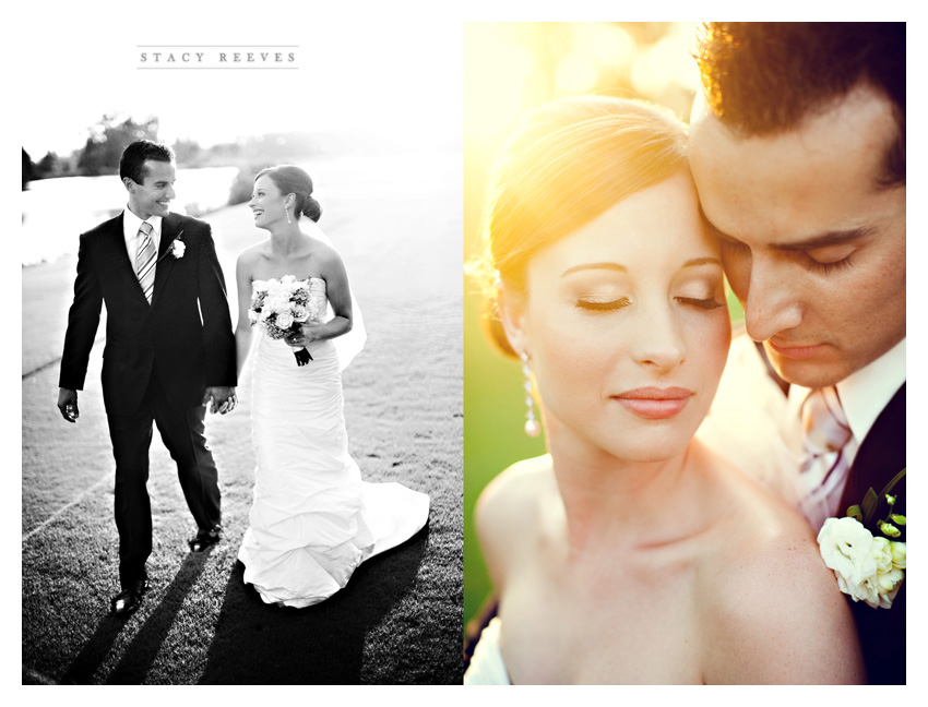 wedding photos of Heather Patterson and Anthony Simon at the Shadow Hawk Golf Club at the Houstonian Golf and Country Club in Richmond Texas by Dallas Wedding Photographers Stacy Reeves