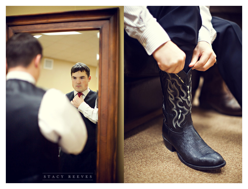 Holly Harlan and Shane intimate Houston wedding elopement at Briscoe Manor by Plano wedding photographer Stacy Reeves