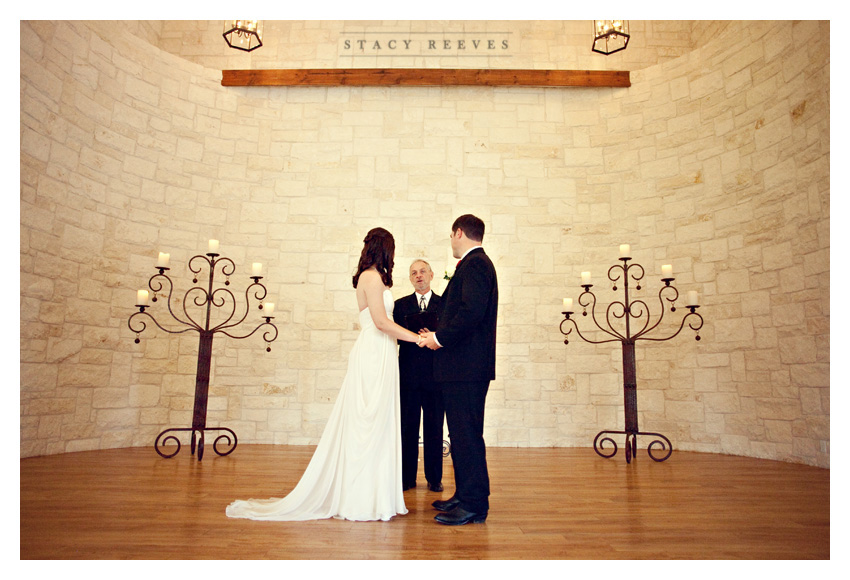 Holly Harlan and Shane intimate Houston wedding elopement at Briscoe Manor by Southlake wedding photographer Stacy Reeves