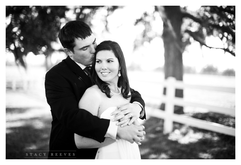 Holly Harlan and Shane intimate Houston wedding elopement at Briscoe Manor by romantic wedding photographer Stacy Reeves