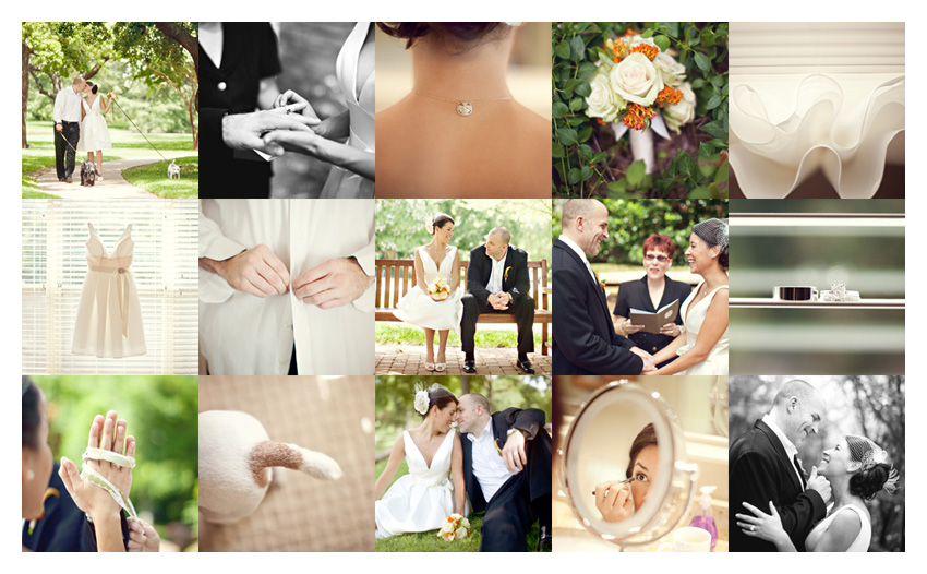 elopement intimate wedding photography at Lakeside in Highland Park by