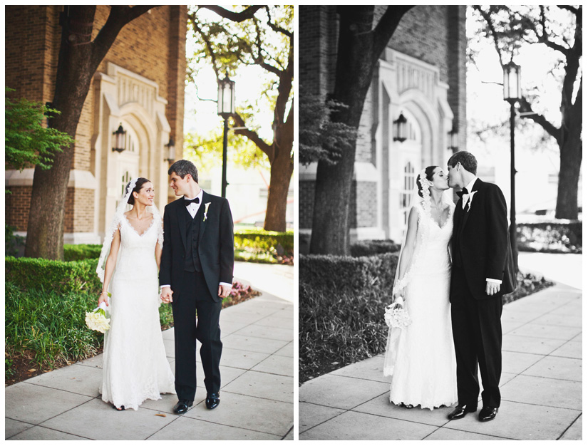 wedding photographs of Kristy Cubstead and Brian Bolton at the Adolphus Hotel and First United Methodist Church in downtown Dallas by Texas wedding photographer Stacy Reeves
