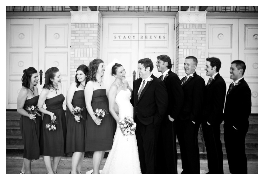 Aggie wedding photography of Lisa Kirk and Grant Speer in Ennis Texas by Dallas wedding photographer Stacy Reeves