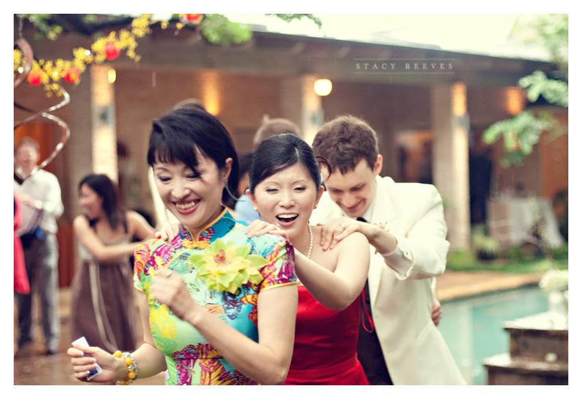 wedding of Zi Ling and Gary Lichliter at a private residence in Highland Park near White Rock Lake by Dallas wedding photographer Stacy Reeves